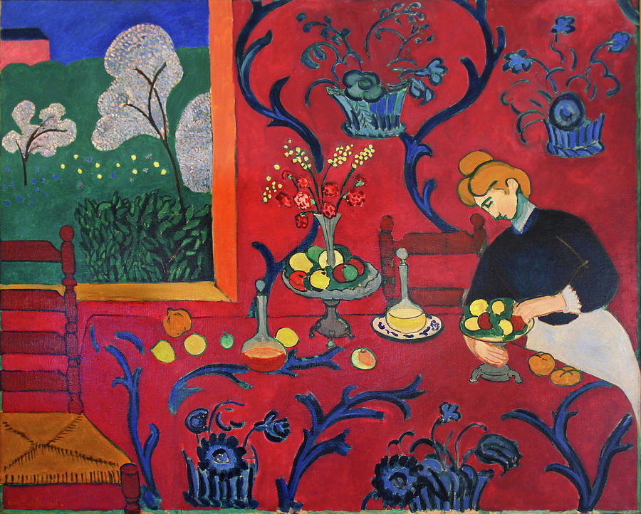 red room henri matisse